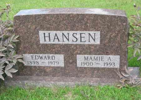 HANSEN, MAMIE A. - Burt County, Nebraska   MAMIE A. HANSEN - Nebraska Gravestone Photos