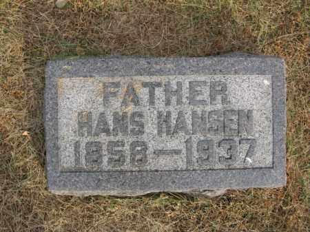 HANSEN, HANS - Burt County, Nebraska | HANS HANSEN - Nebraska Gravestone Photos