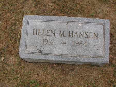 HANSEN, HELEN M. - Burt County, Nebraska | HELEN M. HANSEN - Nebraska Gravestone Photos