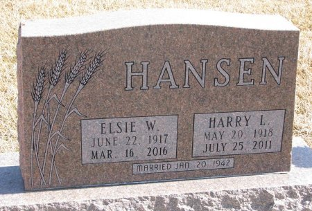 HANSEN, HARRY L. - Burt County, Nebraska | HARRY L. HANSEN - Nebraska Gravestone Photos