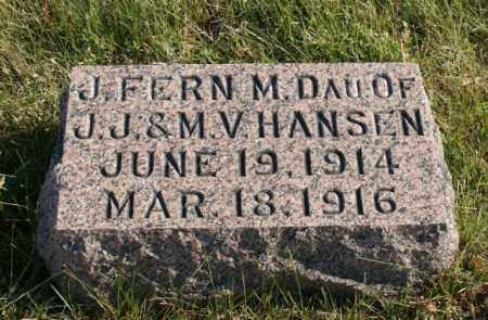 HANSEN, J. FERN - Burt County, Nebraska | J. FERN HANSEN - Nebraska Gravestone Photos