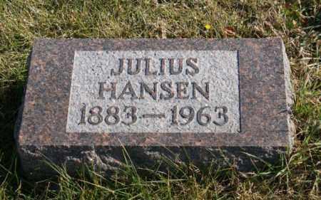 HANSEN, JULIUS - Burt County, Nebraska | JULIUS HANSEN - Nebraska Gravestone Photos