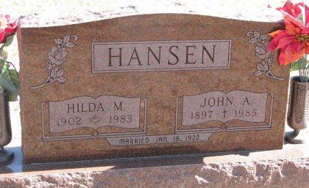 HANSEN, HILDA M. - Burt County, Nebraska | HILDA M. HANSEN - Nebraska Gravestone Photos