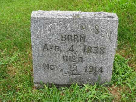 HANSEN, KIRSTEN - Burt County, Nebraska | KIRSTEN HANSEN - Nebraska Gravestone Photos