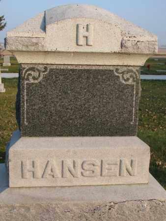 HANSEN, PLOT - Burt County, Nebraska | PLOT HANSEN - Nebraska Gravestone Photos