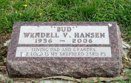 HANSEN, WENDELL V. - Burt County, Nebraska | WENDELL V. HANSEN - Nebraska Gravestone Photos