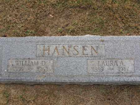 HANSEN, LUARA A. - Burt County, Nebraska | LUARA A. HANSEN - Nebraska Gravestone Photos