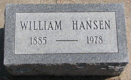 HANSEN, WILLIAM - Burt County, Nebraska | WILLIAM HANSEN - Nebraska Gravestone Photos