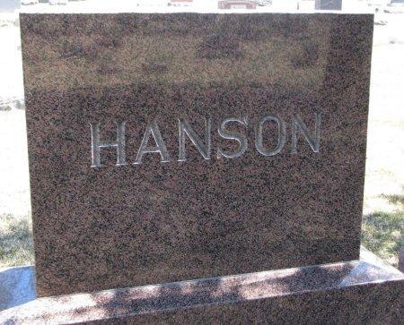HANSON, *FAMILY MONUMENT - Burt County, Nebraska | *FAMILY MONUMENT HANSON - Nebraska Gravestone Photos