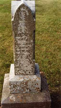 HANSON, BIRDIE MAY - Burt County, Nebraska | BIRDIE MAY HANSON - Nebraska Gravestone Photos
