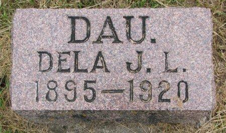 HANSON, DELA J.L. - Burt County, Nebraska | DELA J.L. HANSON - Nebraska Gravestone Photos