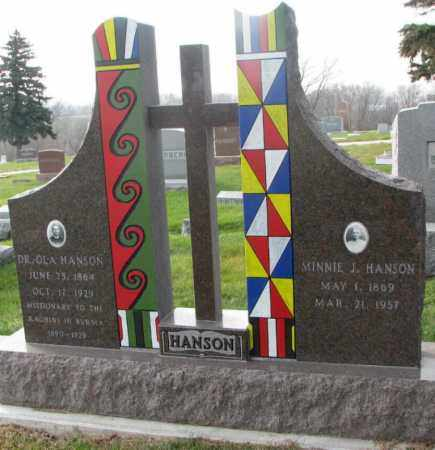 "HANSON, OLA ""DR."" - Burt County, Nebraska | OLA ""DR."" HANSON - Nebraska Gravestone Photos"