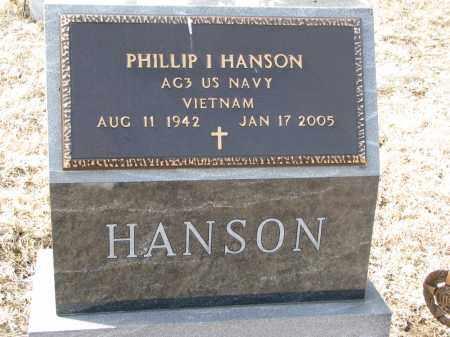 HANSON, PHILLIP I. (MILITARY) - Burt County, Nebraska | PHILLIP I. (MILITARY) HANSON - Nebraska Gravestone Photos