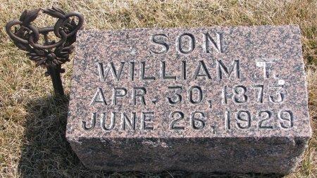 HANSON, WILLIAM T. - Burt County, Nebraska | WILLIAM T. HANSON - Nebraska Gravestone Photos