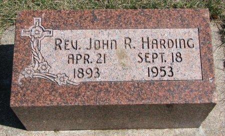 HARDING, JOHN R. (REV.) - Burt County, Nebraska | JOHN R. (REV.) HARDING - Nebraska Gravestone Photos