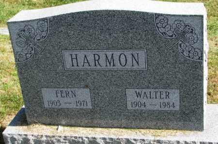 HARMON, WALTER - Burt County, Nebraska | WALTER HARMON - Nebraska Gravestone Photos