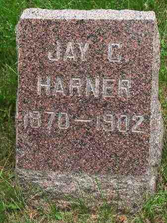 HARNER, JAY C. - Burt County, Nebraska   JAY C. HARNER - Nebraska Gravestone Photos