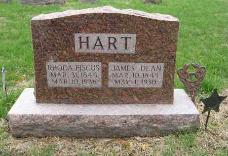 FISCUS HART, RHODA - Burt County, Nebraska | RHODA FISCUS HART - Nebraska Gravestone Photos