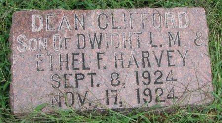 HARVEY, DEAN CLIFFORD - Burt County, Nebraska | DEAN CLIFFORD HARVEY - Nebraska Gravestone Photos