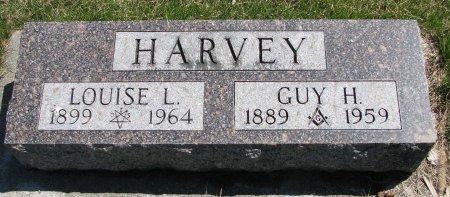HARVEY, LOUISE LILLIAN  - Burt County, Nebraska | LOUISE LILLIAN  HARVEY - Nebraska Gravestone Photos
