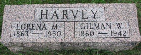 HARVEY, GILMAN W. - Burt County, Nebraska | GILMAN W. HARVEY - Nebraska Gravestone Photos