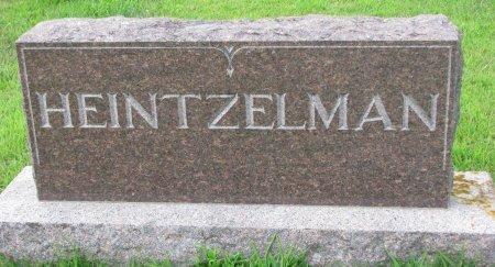HEINTZELMAN, *FAMILY MONUMENT - Burt County, Nebraska | *FAMILY MONUMENT HEINTZELMAN - Nebraska Gravestone Photos