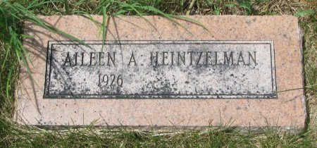 HEINTZELMAN, AILEEN A. - Burt County, Nebraska | AILEEN A. HEINTZELMAN - Nebraska Gravestone Photos