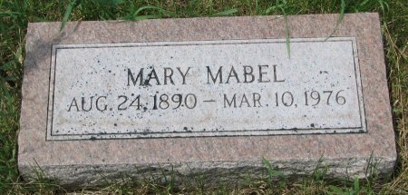 HEINTZELMAN, MARY MABEL - Burt County, Nebraska | MARY MABEL HEINTZELMAN - Nebraska Gravestone Photos
