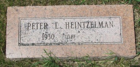 HEINTZELMAN, PETER L. - Burt County, Nebraska | PETER L. HEINTZELMAN - Nebraska Gravestone Photos