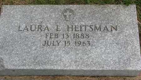HEITSMAN, LAURA L. - Burt County, Nebraska | LAURA L. HEITSMAN - Nebraska Gravestone Photos