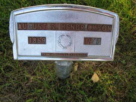 HENDRICKSON, AUGUST S. - Burt County, Nebraska   AUGUST S. HENDRICKSON - Nebraska Gravestone Photos