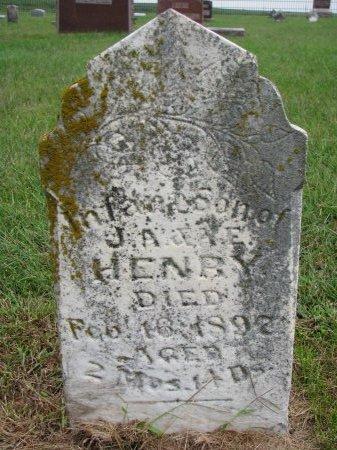 HENRY, INFANT SON - Burt County, Nebraska | INFANT SON HENRY - Nebraska Gravestone Photos