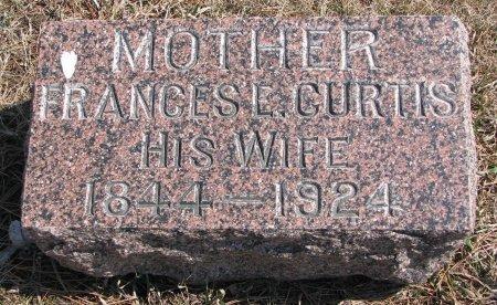 CURTIS HERENDEEN, FRANCES E. - Burt County, Nebraska | FRANCES E. CURTIS HERENDEEN - Nebraska Gravestone Photos