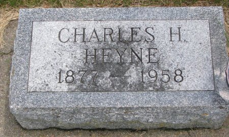 HEYNE, CHARLES H. - Burt County, Nebraska | CHARLES H. HEYNE - Nebraska Gravestone Photos