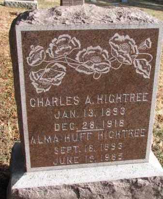 HIGHTREE, CHARLES A. - Burt County, Nebraska | CHARLES A. HIGHTREE - Nebraska Gravestone Photos