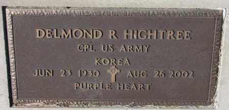 HIGHTREE, DELMOND R. (MILITARY) - Burt County, Nebraska | DELMOND R. (MILITARY) HIGHTREE - Nebraska Gravestone Photos