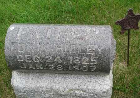 HIGLEY, EDWIN - Burt County, Nebraska | EDWIN HIGLEY - Nebraska Gravestone Photos