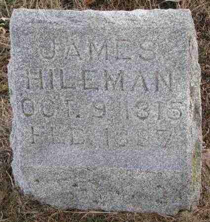 HILEMAN, JAMES - Burt County, Nebraska | JAMES HILEMAN - Nebraska Gravestone Photos