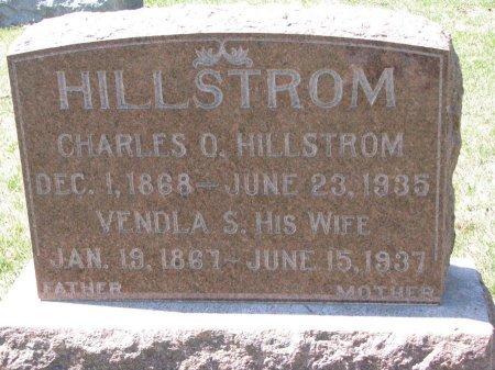 HILLSTROM, CHARLES O. - Burt County, Nebraska | CHARLES O. HILLSTROM - Nebraska Gravestone Photos
