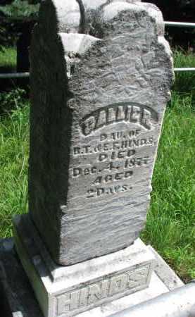 HINDS, CALLIE R. - Burt County, Nebraska | CALLIE R. HINDS - Nebraska Gravestone Photos