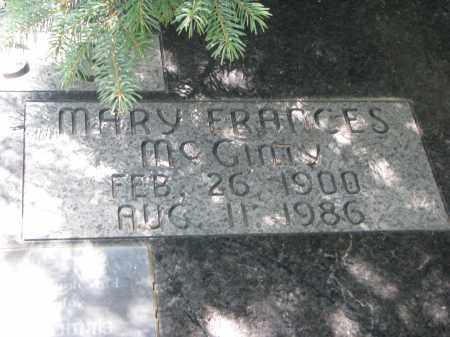 MCGINTY HINDS, MARY FRANCES (CLOSEUP) - Burt County, Nebraska | MARY FRANCES (CLOSEUP) MCGINTY HINDS - Nebraska Gravestone Photos