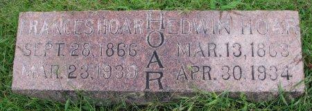 HOAR, EDWIN - Burt County, Nebraska | EDWIN HOAR - Nebraska Gravestone Photos