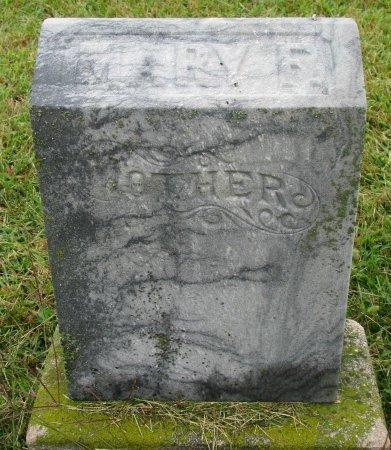 HOBSON, MARY F. (FOOT STONE) - Burt County, Nebraska   MARY F. (FOOT STONE) HOBSON - Nebraska Gravestone Photos