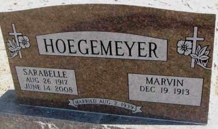 HOEGEMEYER, SARABELLE - Burt County, Nebraska | SARABELLE HOEGEMEYER - Nebraska Gravestone Photos