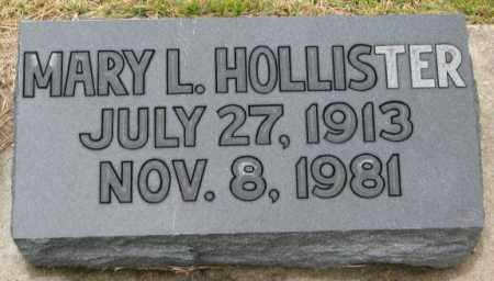 HOLLISTER, MARY L. - Burt County, Nebraska | MARY L. HOLLISTER - Nebraska Gravestone Photos