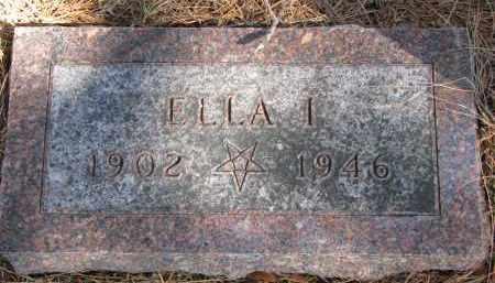 HOLMAN, ELLA I. - Burt County, Nebraska | ELLA I. HOLMAN - Nebraska Gravestone Photos