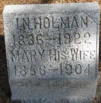 HOLMAN, MARY - Burt County, Nebraska | MARY HOLMAN - Nebraska Gravestone Photos