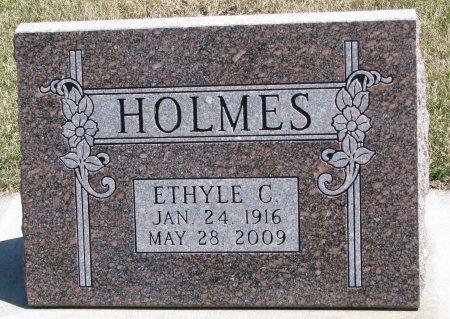 HOLMES, ETHYLE CORA  - Burt County, Nebraska | ETHYLE CORA  HOLMES - Nebraska Gravestone Photos