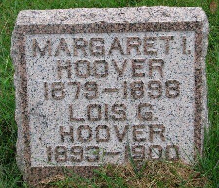 HOOVER, MARGARET I. - Burt County, Nebraska | MARGARET I. HOOVER - Nebraska Gravestone Photos