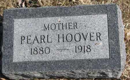HOOVER, PEARL - Burt County, Nebraska | PEARL HOOVER - Nebraska Gravestone Photos